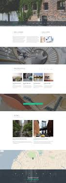 apartment rent web template sweet house website template