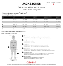Jones Wear Size Chart Jack Et Jones Jack Jones Pants 8 16 Clement