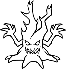 Small Picture Scary coloring pages halloween monster ColoringStar