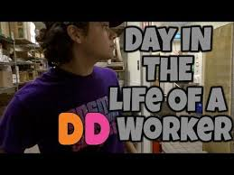 Day In The Life Of A Dunkin Donuts Crew Member Vlog 68 Youtube