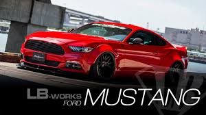 ford works lb works ford mustang youtube