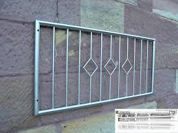 Edelstahl Fenstergitter Einbruch Schutz Sicherung