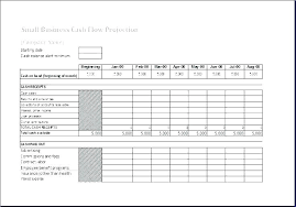 12 Month Cash Flow Monthly Cash Flow Projection Template Forecast 5 Month