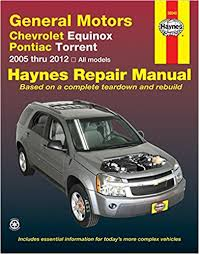 general motors chevrolet equinox and pontiac torrent 2005 thru 2012  at Haynes Repair Manual 2016 Chevrolet Equinox Tail Light Wiring Diagram