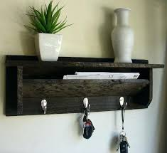 Hanging Coat Rack With Shelf Magnificent Wall Coat Hanger With Shelf Wall Hanging Coat Rack Shelf