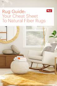 your cheat sheet to natural fiber rugs