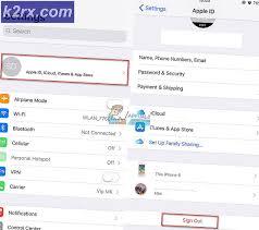 วิธีการแก้ไข 'Apple ID ของคุณถูกปิดใช้งาน' - k2rx.com