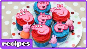 Cupcake Mania Peppa Pig Cupcakes By Hooplakidz Recipes Youtube