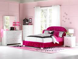 Standard Furniture Marilyn Upholstered Twin Bed in Pink w/ Two ... & Standard Furniture Marilyn Tufted Headboard Bedroom Set in Pink w/ Two  Pillows Adamdwight.com