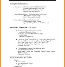Resume Format For Teachers In Word Format Custom Good Summer Jobs For Future Teachers Yoktravels