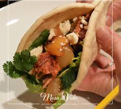 Healthy Salmon and Feta Wrap Recipe ...