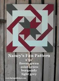 Check out this item in my Etsy shop https://www.etsy.com/listing ... & Items similar to Painted Wood Barn Quilt, Nancy& Fan Pattern on Etsy Adamdwight.com