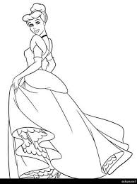 cinderella coloring pages disney coloring pages and print coloring disney princess cinderella coloring pages
