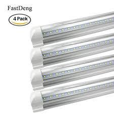 Fluorescent Tube Light Us 3 73 38 Off 4pcs T8 Led Bulbs Tubes Light 10w 2ft Led T8 Integred Tube Light Ac85 265v Led Fluorescent Tube For Indoor Kitchen Lighting In Led