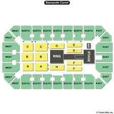Stampede Corral Seating Chart Seat Numbers Dare To Dream At