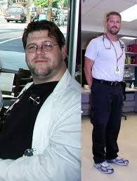 Men Before And After Weight Loss: Mark's 115 Pound Weight Loss Journey