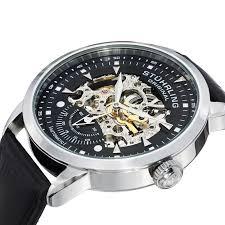 stuhrling original 133 33151 men s symphony aristocrat executive stuhrling original 133 33151 men s symphony aristocrat executive automatic skeleton watch