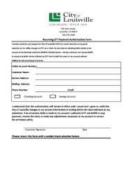 Recurring Payment Authorization Form Fillable Online Recurring Eft Payment Authorization Form Fax Email