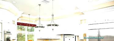 convert can light to chandelier changing recessed