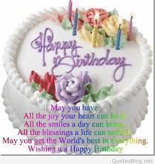 Happy Birthday Images And Quotes Custom 48 Happy Birthday Quotes And Sayings On Images