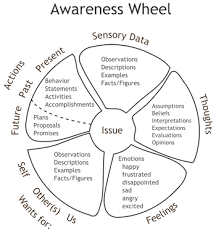 self awareness definition explanation video lesson given any moment in time or specific event referred to as issue in the wheel you can become aware of several different areas of your internal world