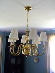 useful clip on lamp shades for chandeliers urbanest 1100327c mini chandelier 6 inch cotton