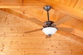 ceiling fan on tall ceiling