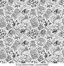 pattern furniture. Seamless Furniture Pattern - Csp15419992 E