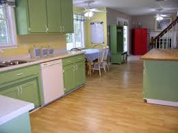 Painted Kitchen Kitchen Cabinets Painted Green