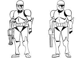 Star Wars the clone wars coloring pages | Enemies Free Printable ...
