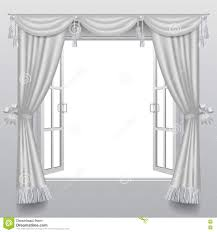 white open window blinds.  Blinds Download Open White Double Window With Classic Blinds And Transparent Gla  Stock Vector  Illustration Of Inside