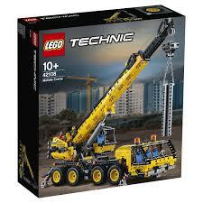 Купить <b>конструктор lego technic</b> 42108 <b>мобильный</b> кран в ...