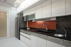 Compact And Easy To Run But Often Tight On Space Singleline Images Of Kitchen Interiors
