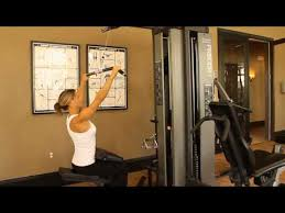 How To Use The Lat Pulldown Low Row On The Precor S3 45