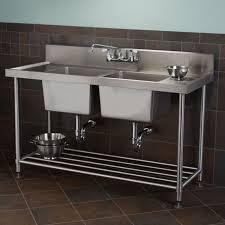 modern farmhouse bathroom sink console
