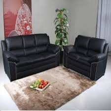 leather sofa half leather second