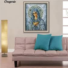 Gregorio Fairy Godmother Religious Style <b>5D DIY Resin Diamond</b> ...