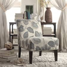 Peterson Teal Floral Accent Slipper Chair by iNSPIRE Q Bold - Free Shipping  Today - Overstock.com - 15468903