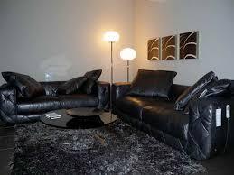 Black Leather Furniture Living Room Ideas Sofa Favorite Black