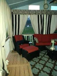 was painted canvas drop cloths outdoor curtains black and white stripe fabric mesh