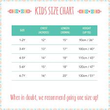 Sweater Size Chart For Babies Children T Shirt Sizes Arts Arts