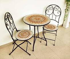 find many great new used options and get the best deals for contemporary mosaic patio table 70cm diameter outdoor garden modern furniture at the