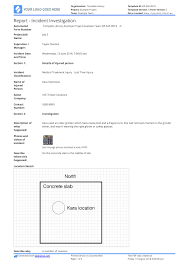 Incident Investigation Report Template Better Than Word And