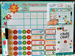 my responsibility chart my magnetic chore responsibility chart organize and encourage good behavior and responsibility with reward system 35 magnets