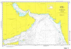 International Nautical Charts Nga Chart 705 Arabian Sea Omega