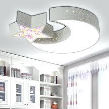 lighting for baby room. Baby Room Lighting Creative Star Half Moon Led Ceiling Light Child Lights Lamps Bedroom Decoration Childrens For B
