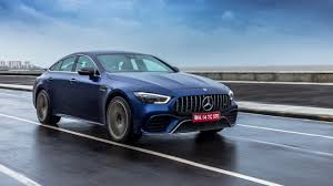 It is available in only one variant and 10 colours. Mercedes Amg Gt 4 Door Coupe 63 S Review First Drive Autox