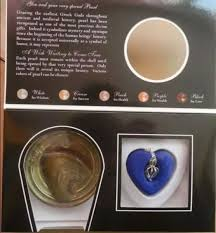 love gift set natural pearl oyster freshwater pearl w