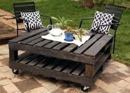 outside furniture made from pallets. Garden Furniture Made Out Of Pallets Easy Pallet Rolling Outdoor Table Outside From H