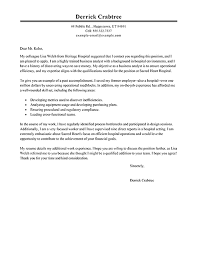 Cover Letter To Former Employer Big Business Analyst Cover Letter Example Cover Letter